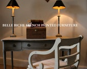 SOLD OUT   Similar Piece enroute Fine George III Style Serpentine Library Table  Writing Desk   Finished in Gustavian Style