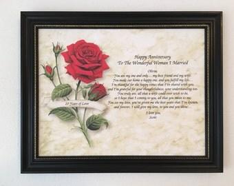Alternative 10th Wedding Anniversary Gifts : ... romantic gift gift from husband tenth wedding anniversary 34 95