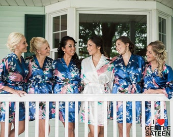 17 COLORS, Create Your Set, Best Bridesmaid Gift, Bridesmaid Robes, Kimono Robes, Bridal Party Robes, Getting Ready, Fast Shipping from NY