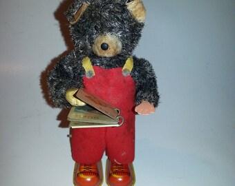 Cubby the reading bear