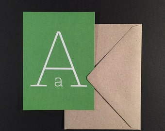 Letter cards / / DIN A7 with envelope