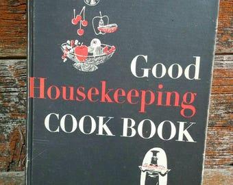 Vintage Good Housekeeping Cookbook, 1963 Cookbook, Vintage Recipe Book