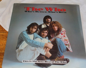 The Who- 1989 LP Who's Better, Who's Best