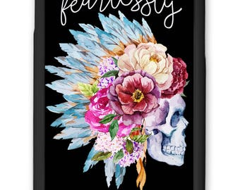 Fearlessly Authentic | iPhone Case |  | iPhone 7+ Case | iPhone 6/6s Case | Galaxy Case | Printed Cell Phone Case | Custom Cell Phone Case