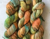 True Sock - Riotous - hand dyed yarn, fingering, canadian, speckled