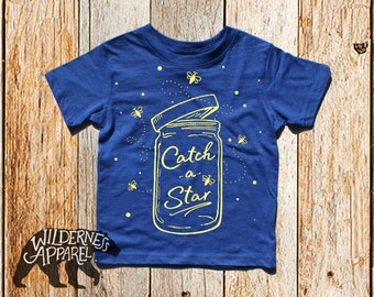 NEW ~ Catch a Star ~ Toddler Crew Tee ~ Available In Vintage Colors