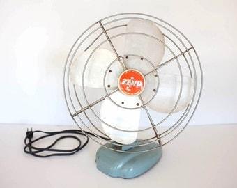"""Vintage Zero Model 1275A 13""""Electric Fan"""