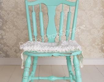 Digital Backdrop Newborn - Newborn Digital Backdrop Vintage Robin Egg Blue Chair Damask Digital Backdrop Newborn Instant Download