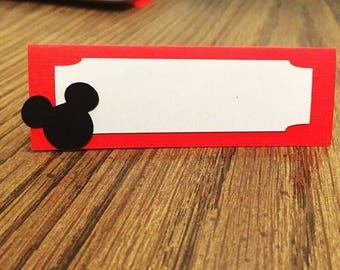 Mickey Mouse Place Cards
