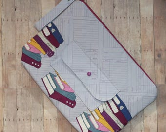 Knitting Project Bag-Library Books II