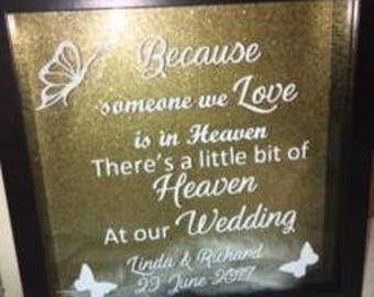 Wedding Memorial Frame