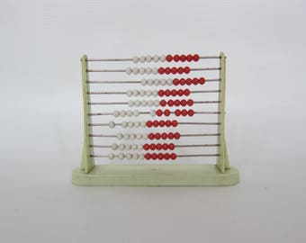 Vintage counting frame * Abacus * Children calculator