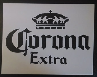 Corona Extra Beers Beer Custom Stencil FAST FREE SHIPPING