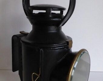 Antique 4 Aspect LMS Railway Lamp