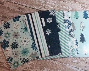 Dividers for Pocket Small Size Planner Cool Winter