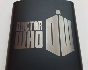 Dr. Who - 6oz Flask
