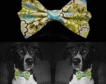 Greenforest Dog Bow Tie - Green
