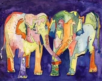 Big Elephant Love