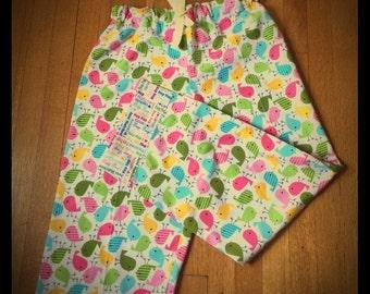 Cotton Pajama Pants BirdiePink for Women