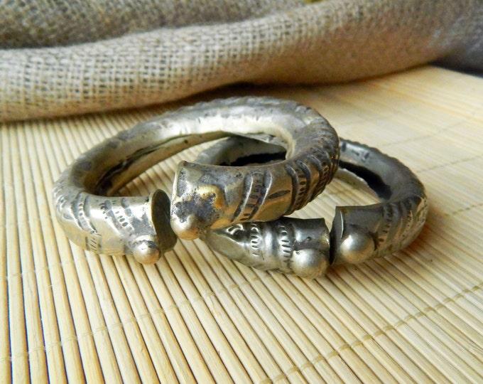 Boho bracelet, tribal bracelet, vintage kuchi bracelet, ethnic gypsy bracelet, handmade afghan bracelet, nomad antique bracelet small 1 pc