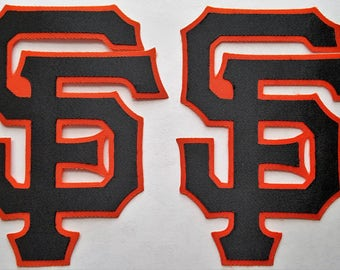 Lot of 2 San Francisco Giants Iron On Patches
