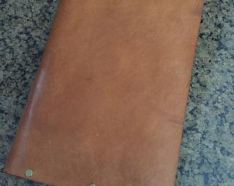 Leather journal,  personalized leather journal cover, Refillable journal, leather journal wallet , leather portfolio