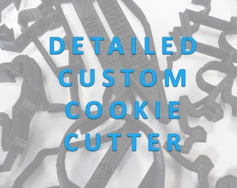 Detailed Custom Cookie Cutter