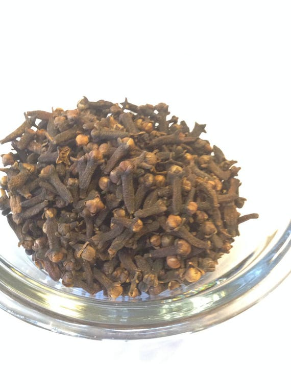 1 LB Organic Whole Cloves Fair trade Great in Teas or cooking no sulfites no additives