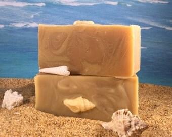 Green Tea Lemongrass Soap  / All Natural Handmade Essential Oil Soap, Shea Butter Citrus Soap
