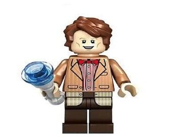 DR Who the 11th doctor Matt Smith Custom Minifigure 100% Lego Compatible! Image Comics/AMC
