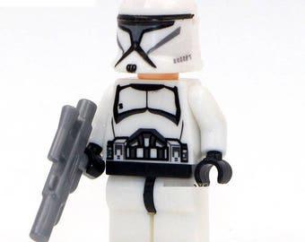 Clone Trooper Star Wars Custom Minifigure 100% Lego Compatible!