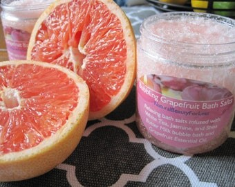 Bubbling Grapefruit Bath Salts