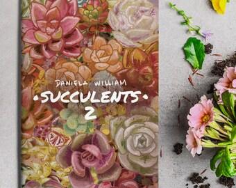 Succulents 2 illustrated fanzine