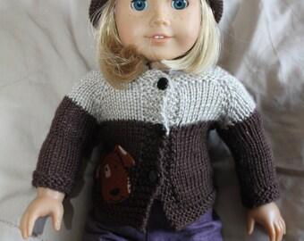 Doggone it Doll Sweater Set