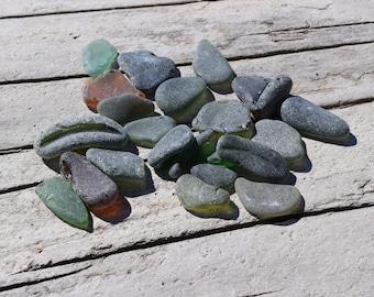 Pendant Sea Glass, Genuine Beach Glass, Bulk Beach Glass Craft tools mixed sea glass Art Supplies