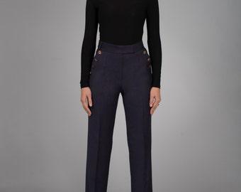 Wool trousers. Women's trousers.