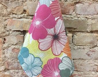 Flower Towel,Linen Towel, Pure Linen Tea Towel, 100% Flax Kitchen Towel, Scandinavian design