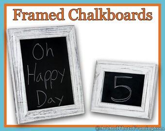 Framed Chalkboard, Rustic Frame Chalkboard, Chalk Board Decor Rustic Reclaimed Distressed Barn Wood Custom 5x7 8x10 11x14 16x20 24x36 8 x 10