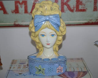 Vintage Paper Mache Lipstick Holder Popular Gift Item