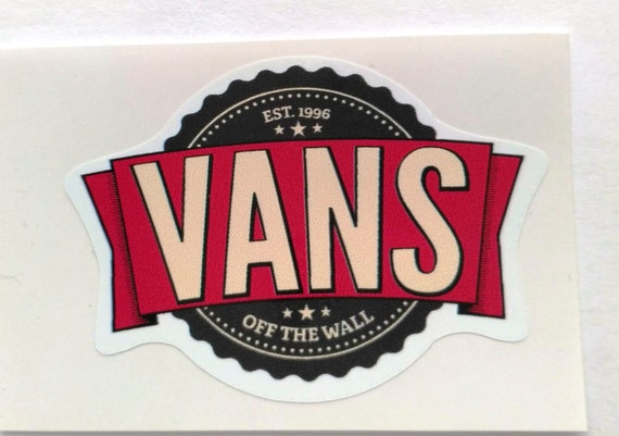 marken sticker vans