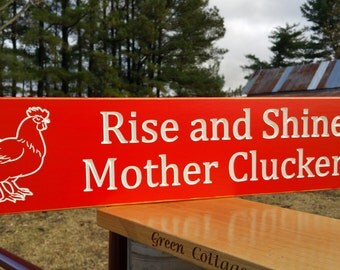 Chicken Coop Signs Etsy
