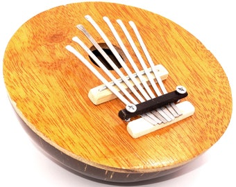 Karimba, Kalimba, guitar Piano to thumb Sanza Coco Instrument music Aboriginal painted finger piano kalimba coconut handmade Tunb