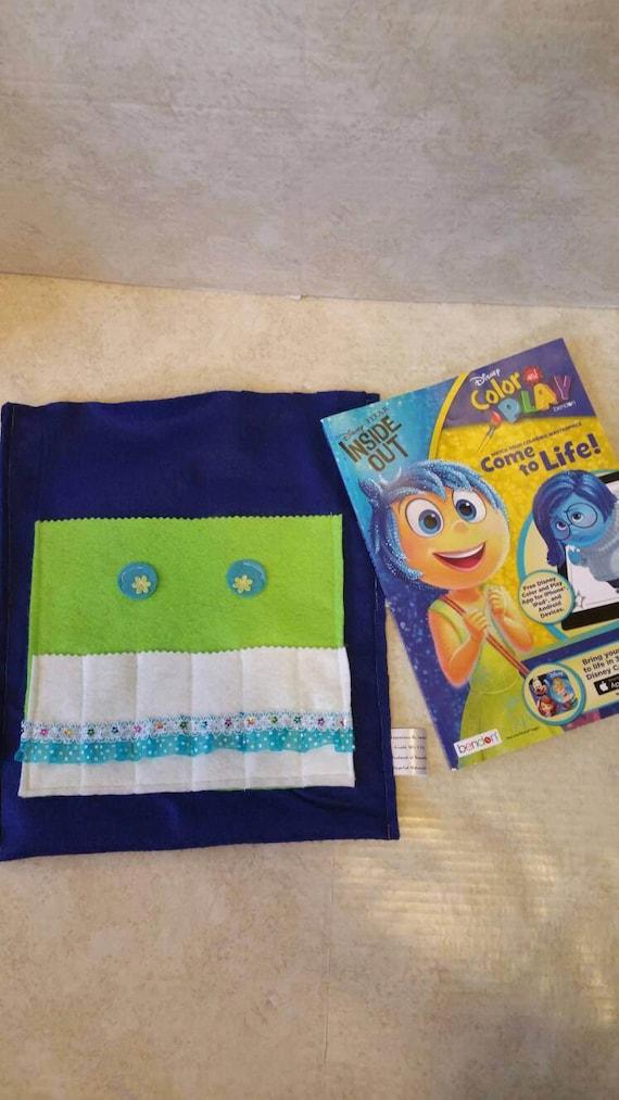 Kids Christmas Gift Crayon Bag Coloring Book Holder