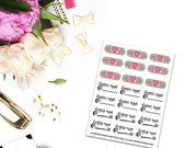 Health Care Planner Stickers