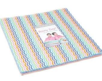 "Moda ~ Rainy Day ~ (42) 10"" Cotton Quilting Squares Fabric ~ 22290LC"