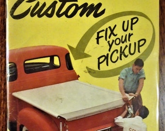 ROD & CUSTOM MAGAZINE August 1955 Issue...Little Pages Format