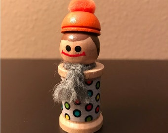 Wooden Spool Doll - MADE TO ORDER