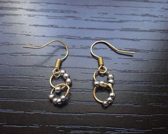 Silver and Gold Earring Accessories