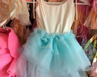Summer whimsy Tutu Dress
