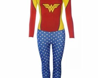 Vintage Wonder Woman Wetsuit